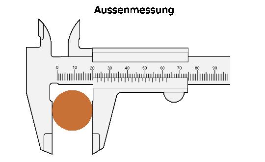 Turbo Messen mit der Schieblehre AC36
